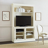 Tuscan Media Console and Hutch