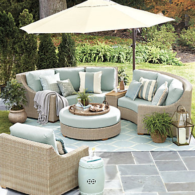 Outdoor Furniture - Deck, Pool, Lounge & Dining | Ballard Designs
