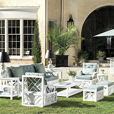 Outdoor Sofa and Lounge Seating | Ballard Designs | Ballard ...