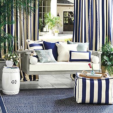 Outdoor Pillows Cushions Patio Porch Cushions Ballard Designs