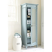 Casa Florentina Brandisi Armoire with Mirrored Door - Stocked