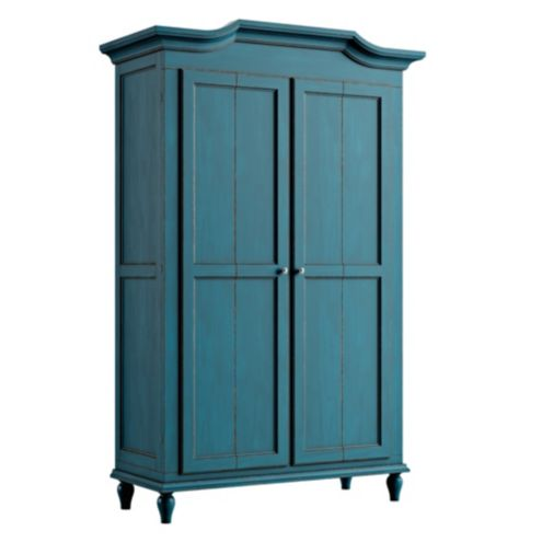 Casa Florentina Josephina Bonnet Top Armoire - Stocked