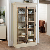 Salerno Glass Door Cabinet