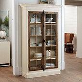 Salerno Glass Door Cabinet