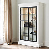 Delano Glass Door Cabinet