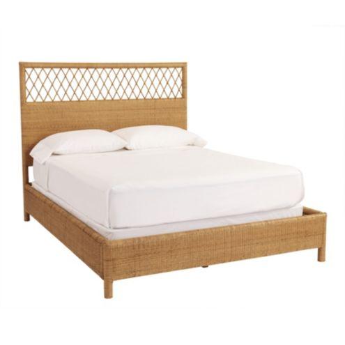 Stupendous Suzanne Kasler Southport Rattan Bench Ballard Designs Ibusinesslaw Wood Chair Design Ideas Ibusinesslaworg