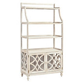 Ceylon Whitewash Baker's Rack