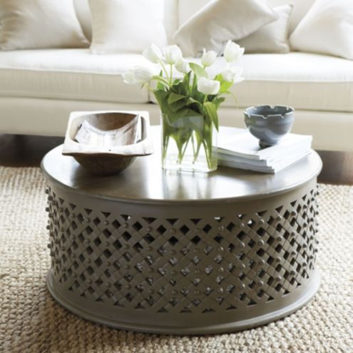 Bornova Coffee Table - Warm Gray