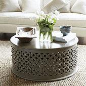 Bornova Coffee Table - Warm Gray