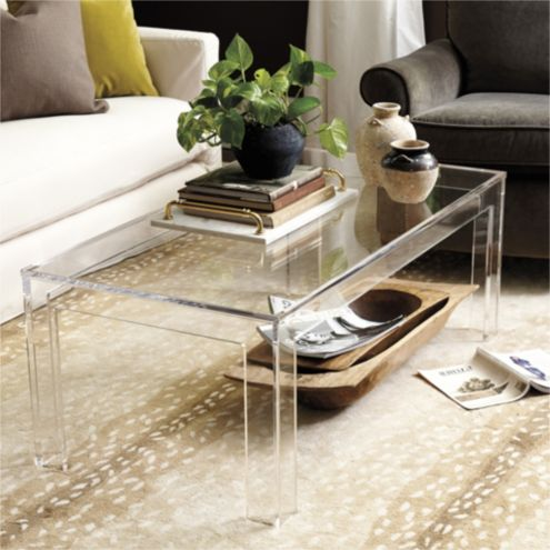 Elegant Felicity Acrylic Coffee Table