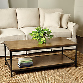 Durham Rectangular Coffee Table Ballard Designs - Small oblong coffee table