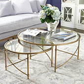 Maxwell Nesting Coffee Tables - Set of 2