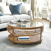 Beverly Rattan Coffee Table