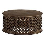 Bornova Coffee Table - Rustic Black