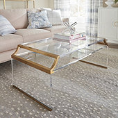 Faye Acrylic Coffee Table