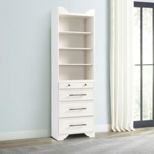 Sarah Storage Tower   Drawers U0026amp;amp; Shelves