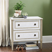 Rowan 2 Drawer Side Table