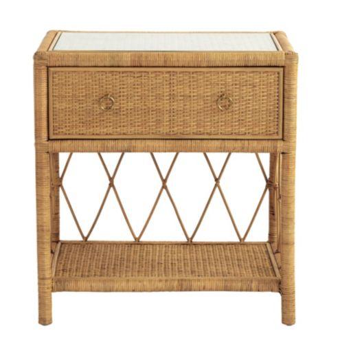 Cool Suzanne Kasler Southport Rattan Bench Ballard Designs Ibusinesslaw Wood Chair Design Ideas Ibusinesslaworg