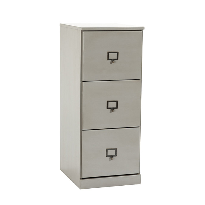 Tall 3 Drawer File Cabinet