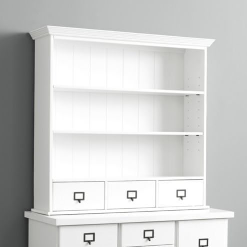 Office Designs 3-Drawer Hutch