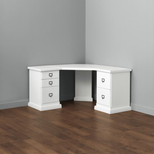 Wood Top - Corner Desk Group Small