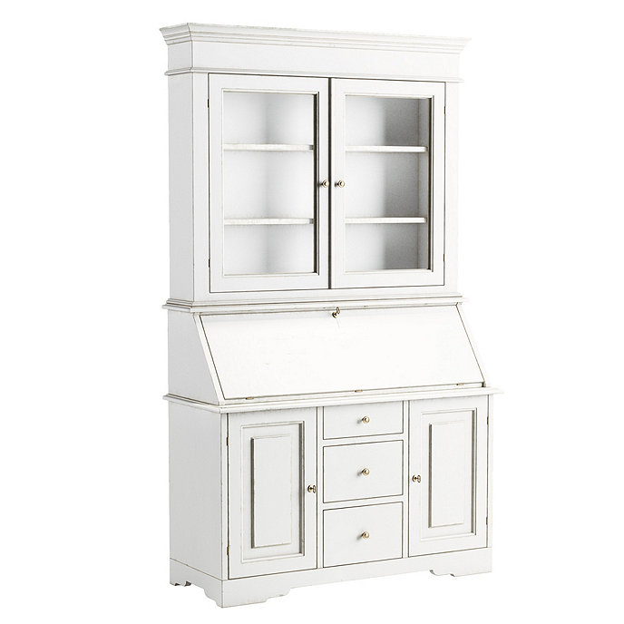 Casa Floina San Marino Secretary Desk With Hutch Custom