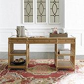 Beverly Rattan Desk