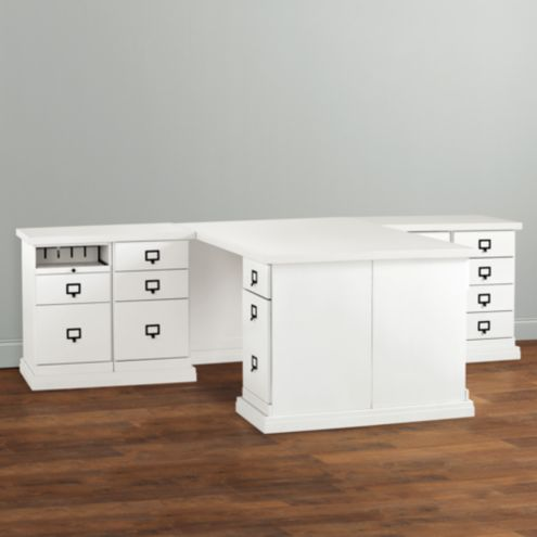 OHO Partners Desk Return Group Small & Wood
