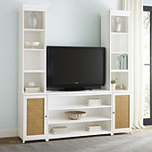 Hutton Media Console with Hutch