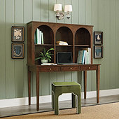 Camile Desk with Hutch