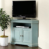 Angullo Corner Media Cabinet - Deep Spa