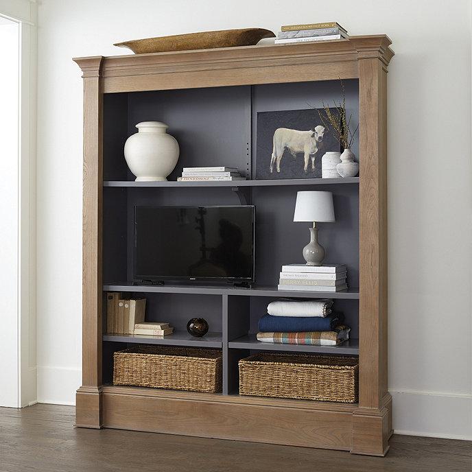 Martine Media Bookcase