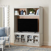 Sinclaire Media Console with Hutch