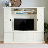 Fenwick Media Console with Hutch