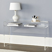 Alissa Acrylic Console Table