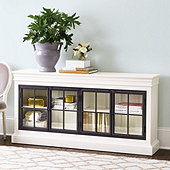 Delano Glass Door Console