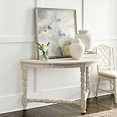 Alexa Demilune Console Table