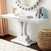 Eva Pedestal Console Table