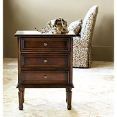 Lacquer Louis XVI Side Table
