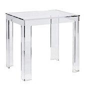 Felicity Acrylic Rectangular Side Table