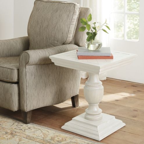 Andrews Pedestal Accent Table