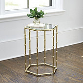 Suzanne Kasler Dorset Bamboo Side Table