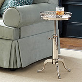 Miles Redd Marble Top Telescoping Table