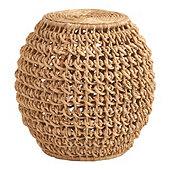 Tulum Woven Garden Stool