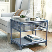 Beverly Rattan Side Table