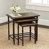 Toulouse Nesting Tables - Set of 3
