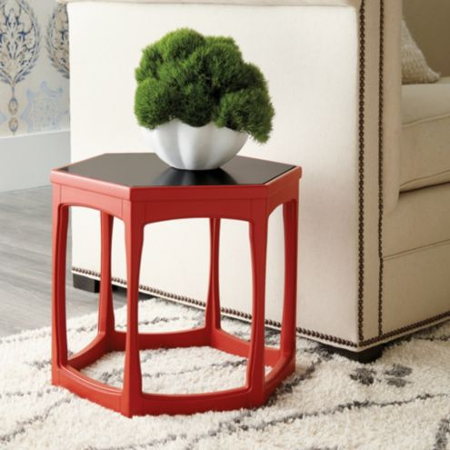 Bunny Williams Cornwall Hexagonal Accent Table