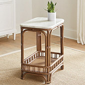 Annisa Rattan Side Table