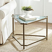Kendall Triangle Side Table