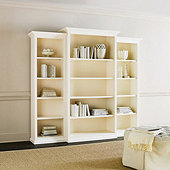 Tuscan 3-Piece Bookcase Set